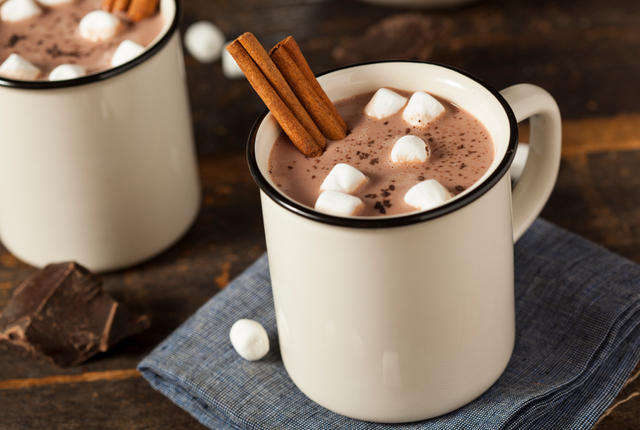 Gourmet Hot Chocolate Milk - cheap valentines day ideas - go commando app - the brief