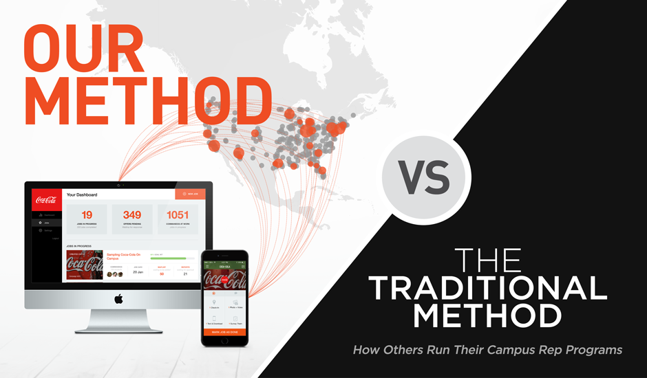 Our method vs the traditional method