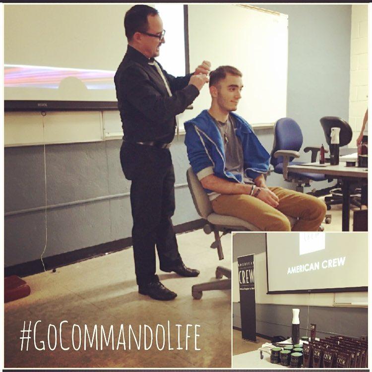 brand presentation to student organization - go commando app